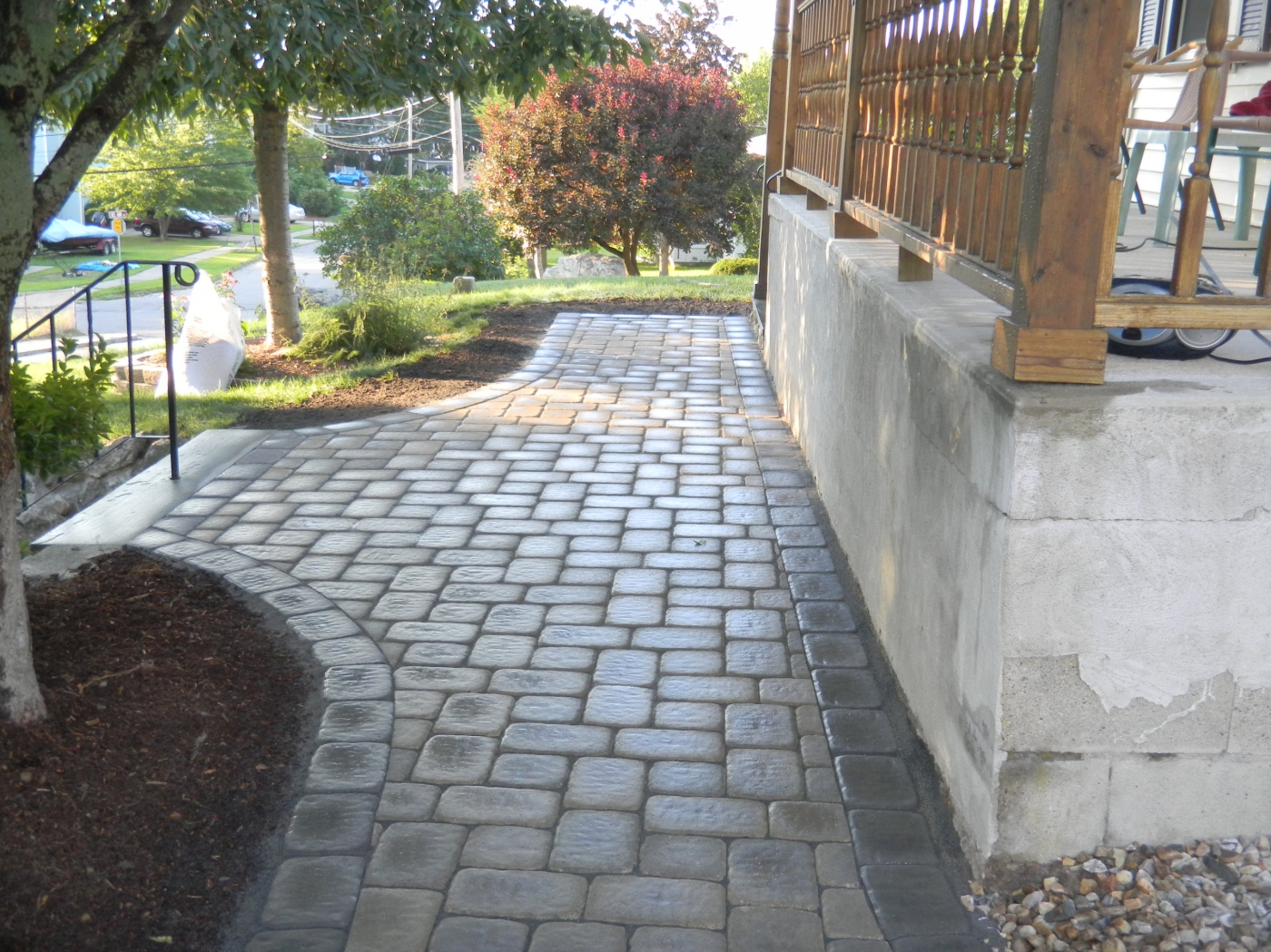 Landscape And Masonry Contractor Trac Landscaping In
