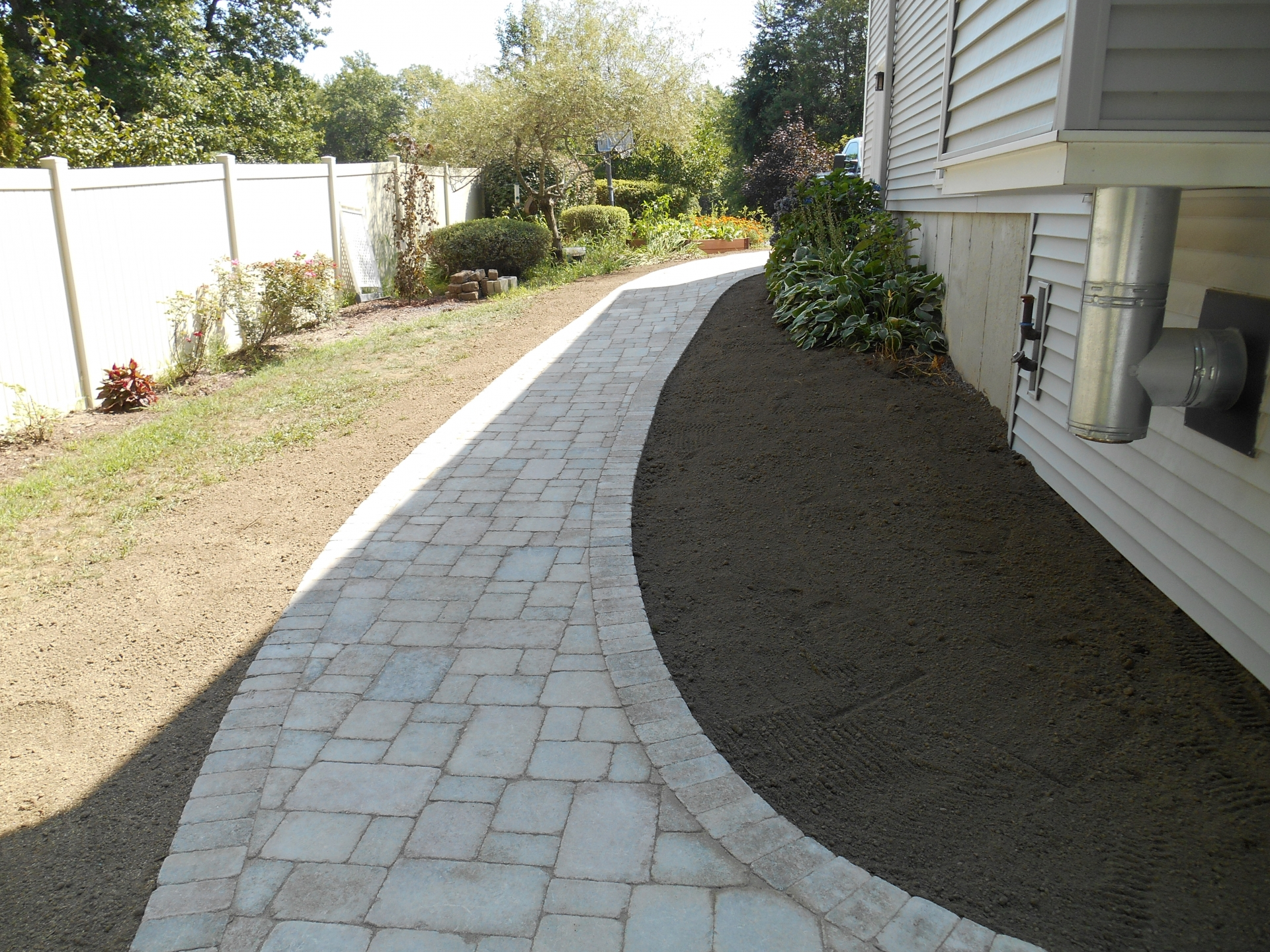 Fans Blocking Walkways : Landscape and masonry contractor trac landscaping in