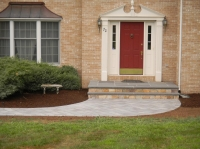 Landing - Bluestone Dimensional Flagging<br />
